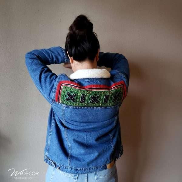 Jeans jacket Collar
