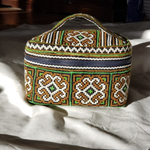 Toiletbag Oriental G handgemaakt